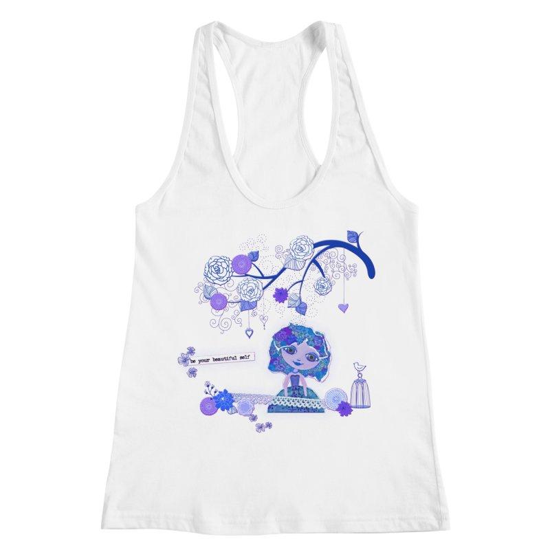 You Are Beautiful Women's Racerback Tank by LittleMissTyne's Artist Shop