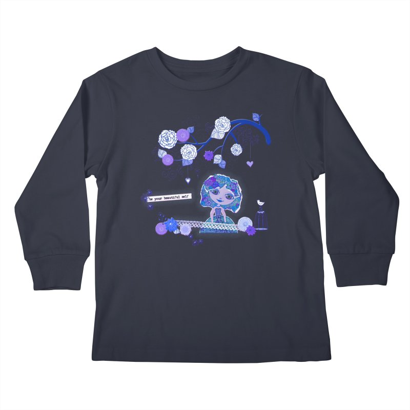 You Are Beautiful Kids Longsleeve T-Shirt by LittleMissTyne's Artist Shop
