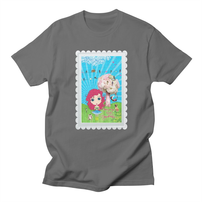Daydreams Really Do Come True - Dark Haired Version Men's T-Shirt by LittleMissTyne's Artist Shop