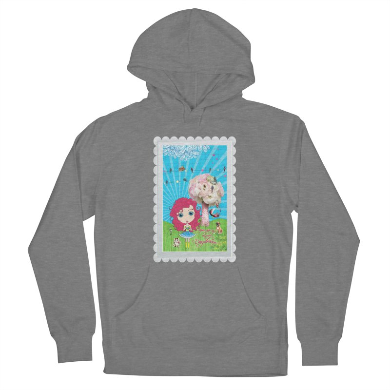 Daydreams Really Do Come True - Dark Haired Version Women's Pullover Hoody by Little Miss Tyne's Artist Shop