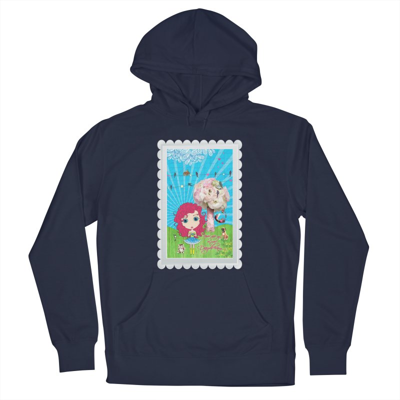 Daydreams Really Do Come True - Dark Haired Version Men's Pullover Hoody by Little Miss Tyne's Artist Shop