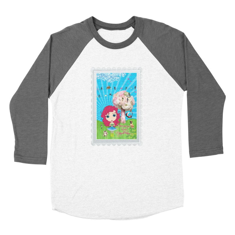 Daydreams Really Do Come True - Dark Haired Version Women's Longsleeve T-Shirt by Little Miss Tyne's Artist Shop