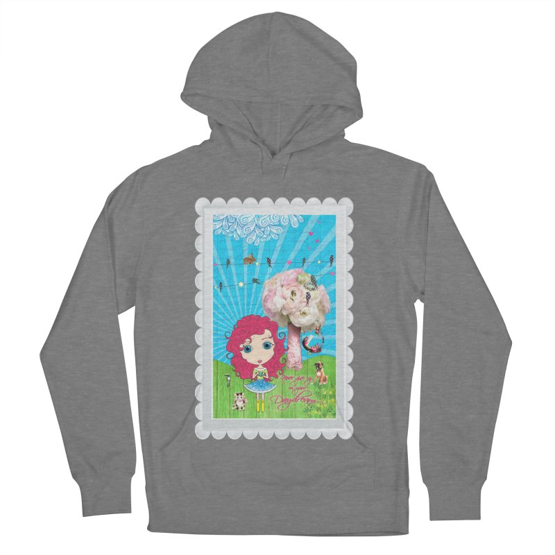 Daydreams Really Do Come True - Dark Haired Version Women's Pullover Hoody by LittleMissTyne's Artist Shop