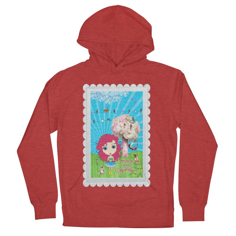 Daydreams Really Do Come True - Dark Haired Version Men's French Terry Pullover Hoody by LittleMissTyne's Artist Shop
