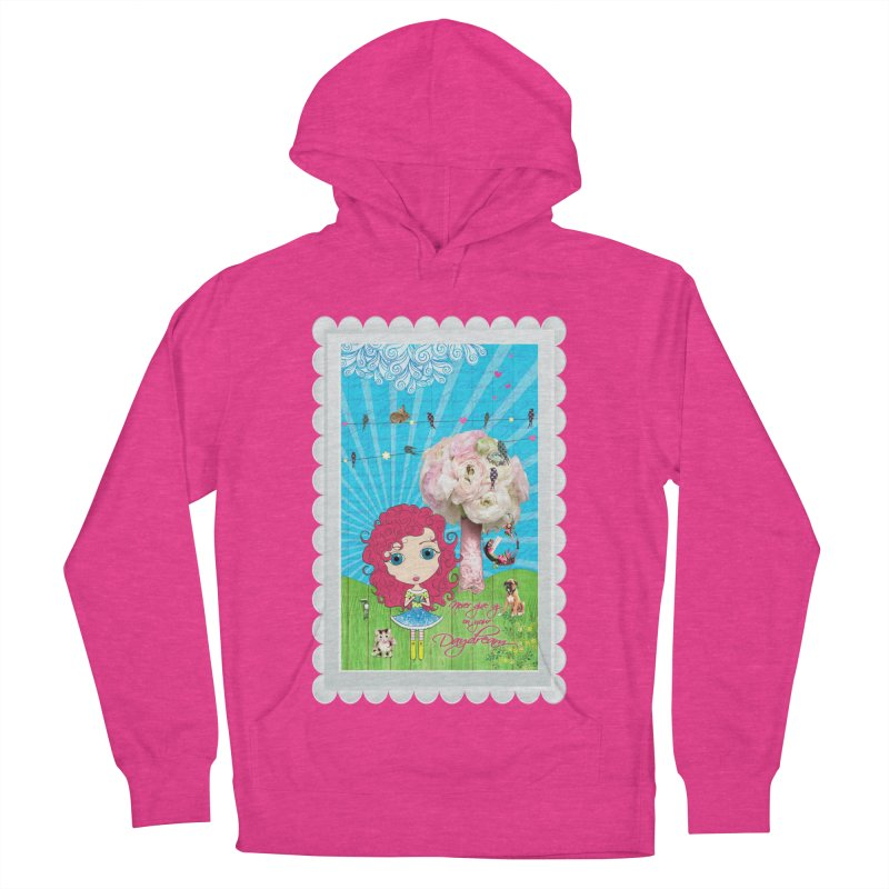 Daydreams Really Do Come True - Dark Haired Version Men's Pullover Hoody by LittleMissTyne's Artist Shop