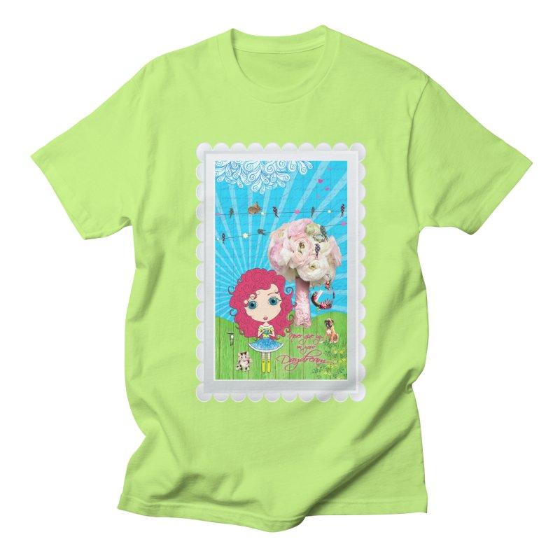 Daydreams Really Do Come True - Dark Haired Version Men's T-Shirt by LittleMissTyne's Artist Shop