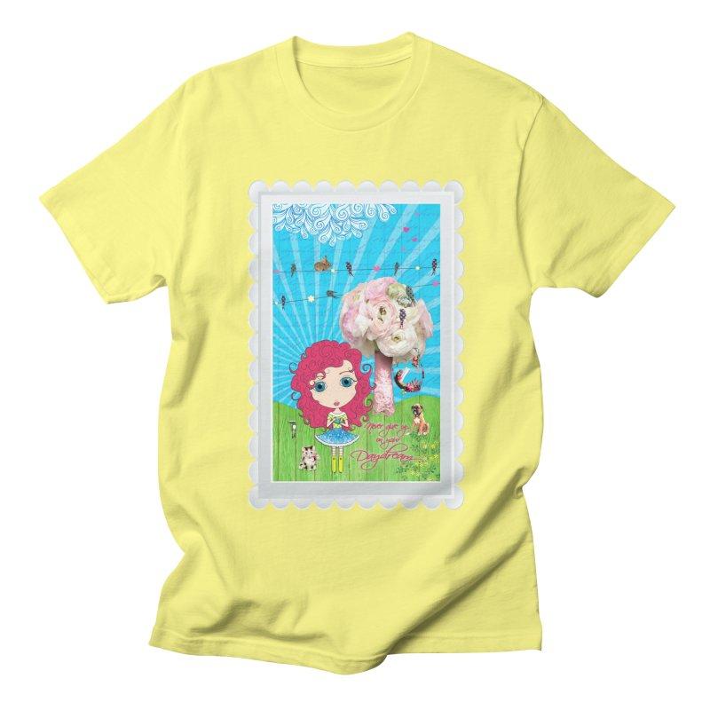 Daydreams Really Do Come True - Dark Haired Version Women's Regular Unisex T-Shirt by LittleMissTyne's Artist Shop