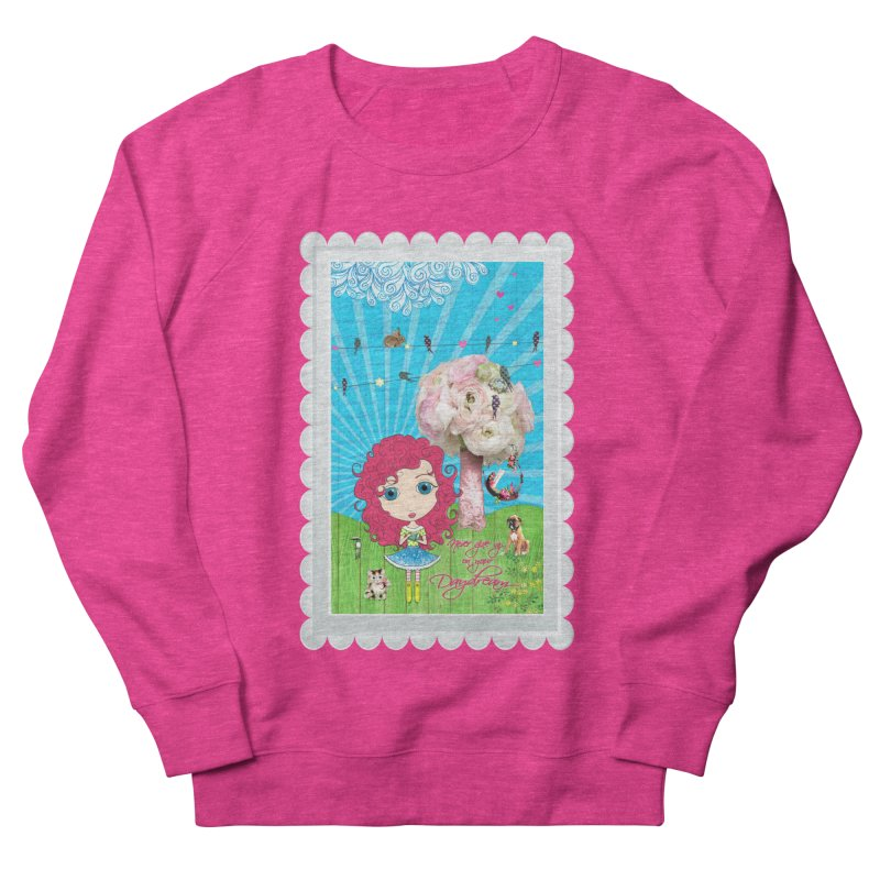 Daydreams Really Do Come True - Dark Haired Version Men's French Terry Sweatshirt by LittleMissTyne's Artist Shop