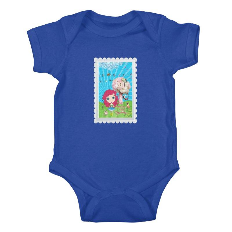 Daydreams Really Do Come True - Dark Haired Version Kids Baby Bodysuit by LittleMissTyne's Artist Shop