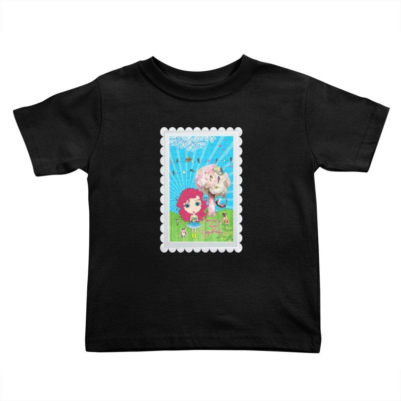Daydreams Really Do Come True - Dark Haired Version Kids Toddler T-Shirt by LittleMissTyne's Artist Shop