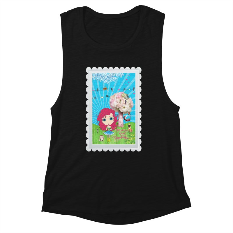 Daydreams Really Do Come True - Dark Haired Version Women's Tank by LittleMissTyne's Artist Shop