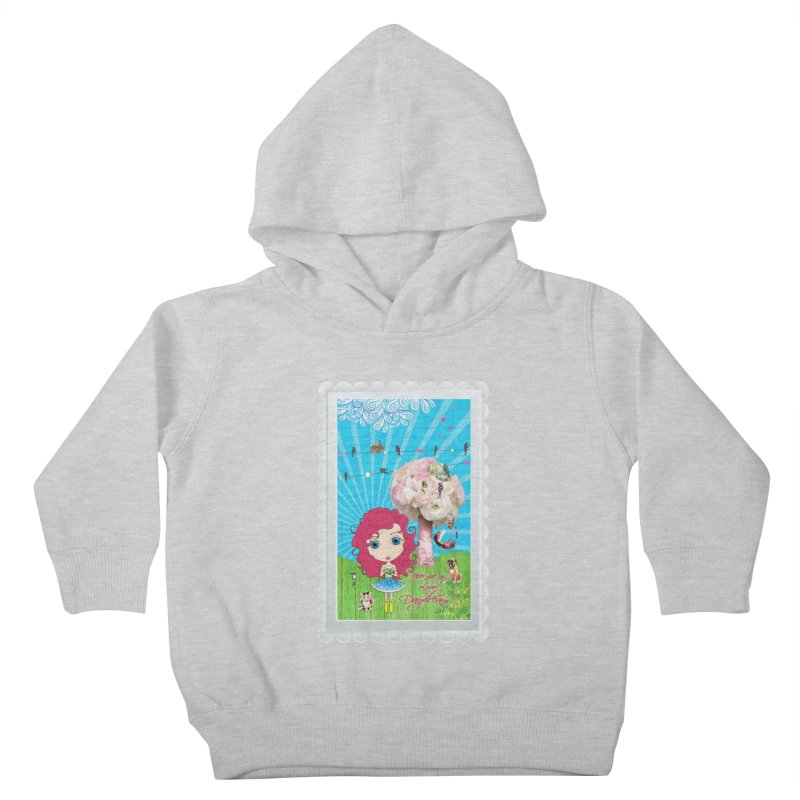 Daydreams Really Do Come True - Dark Haired Version Kids Toddler Pullover Hoody by LittleMissTyne's Artist Shop