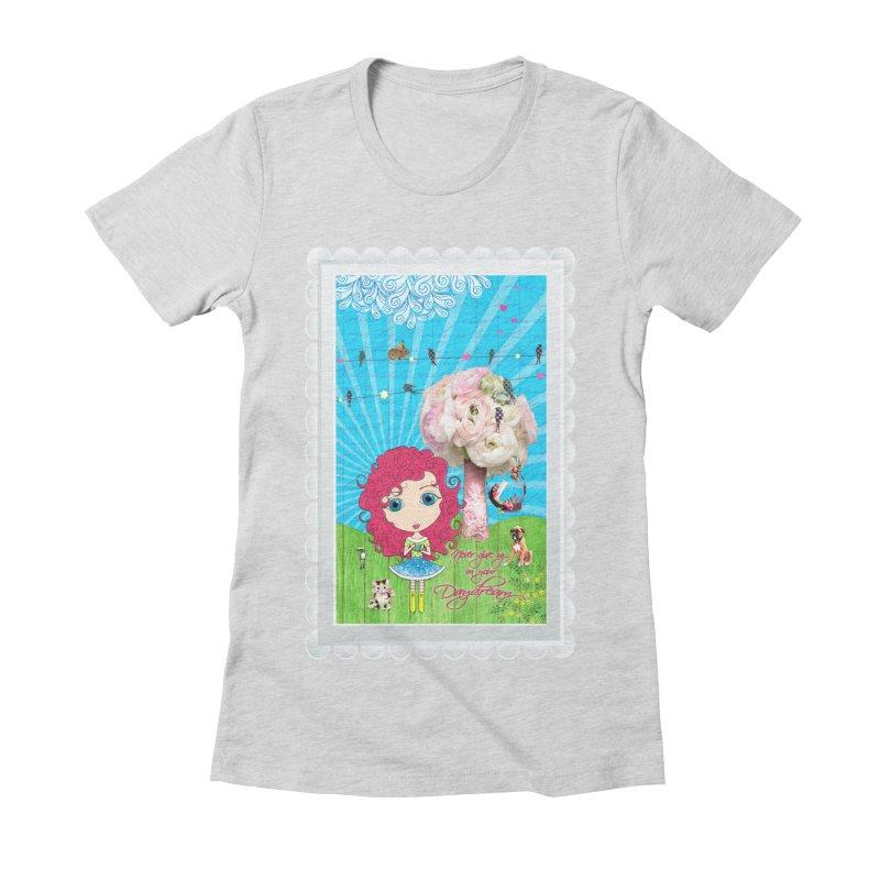 Daydreams Really Do Come True - Dark Haired Version Women's T-Shirt by LittleMissTyne's Artist Shop