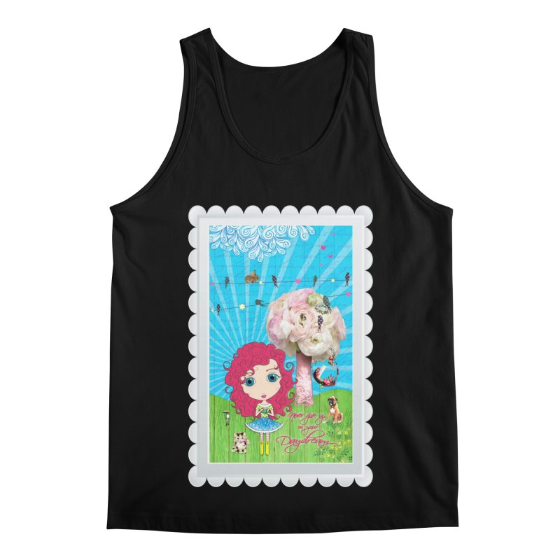 Daydreams Really Do Come True - Dark Haired Version Men's Regular Tank by LittleMissTyne's Artist Shop