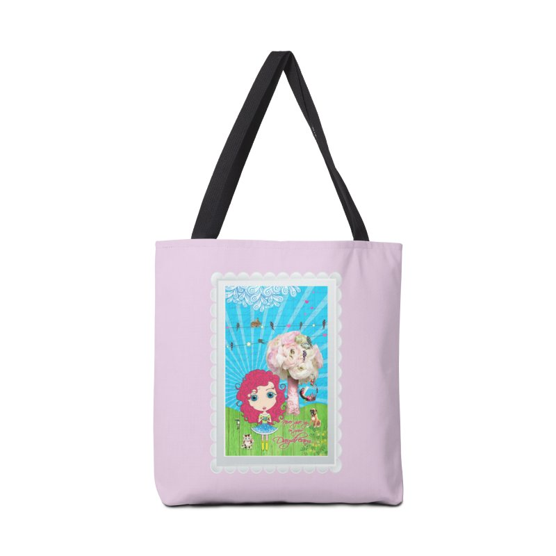 Daydreams Really Do Come True - Dark Haired Version Accessories Tote Bag Bag by LittleMissTyne's Artist Shop