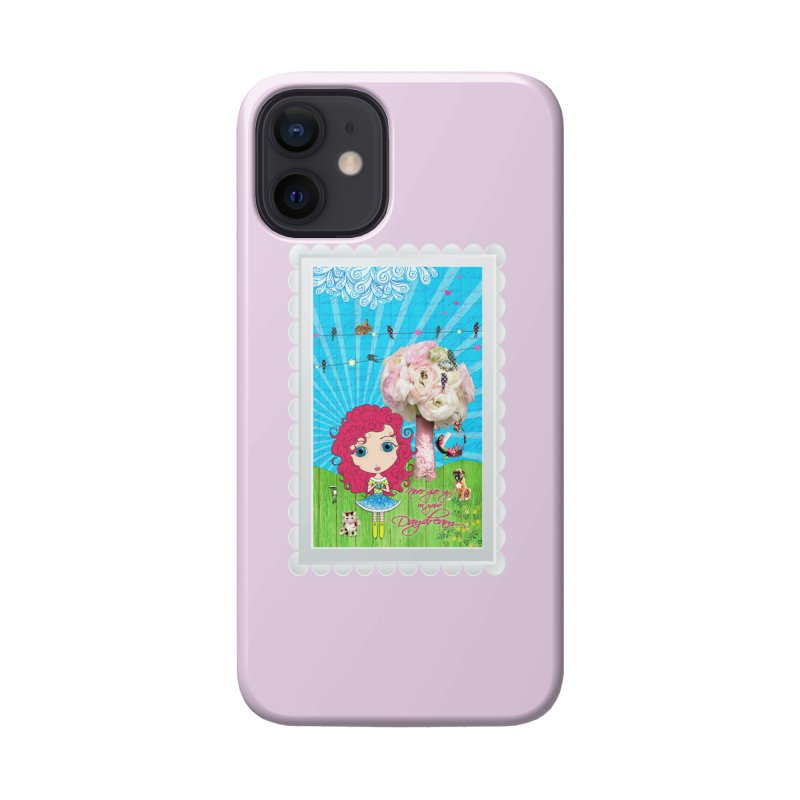 Daydreams Really Do Come True - Dark Haired Version Accessories Phone Case by Little Miss Tyne's Artist Shop
