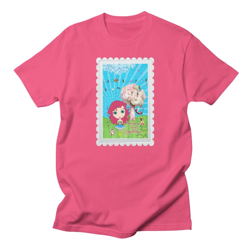 Daydreams Really Do Come True Men's T-Shirt by Little Miss Tyne's Artist Shop