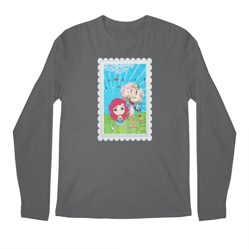 Daydreams Really Do Come True Men's Longsleeve T-Shirt by Little Miss Tyne's Artist Shop