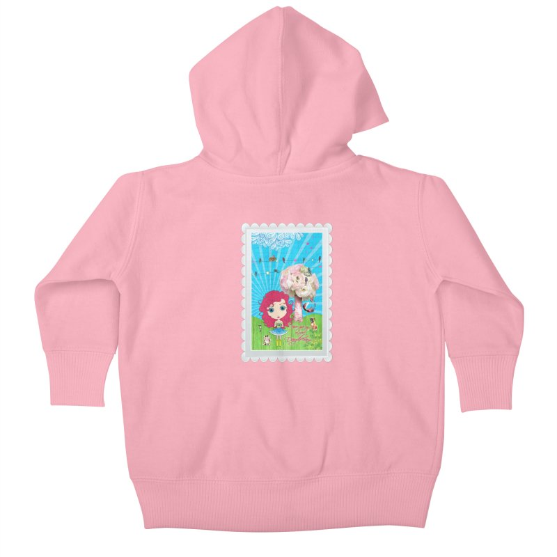 Daydreams Really Do Come True Kids Baby Zip-Up Hoody by Little Miss Tyne's Artist Shop