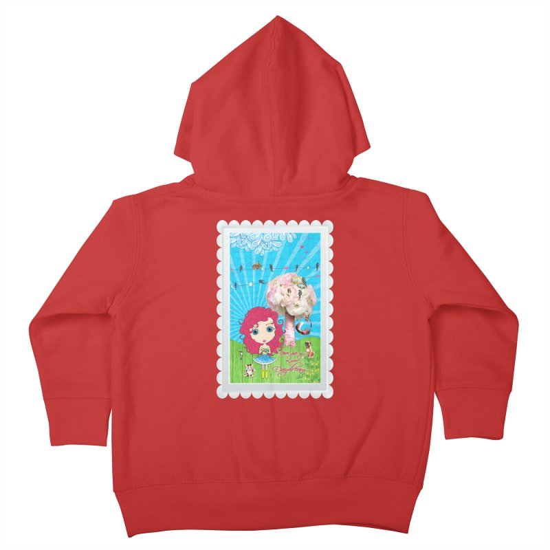 Daydreams Really Do Come True Kids Toddler Zip-Up Hoody by Little Miss Tyne's Artist Shop