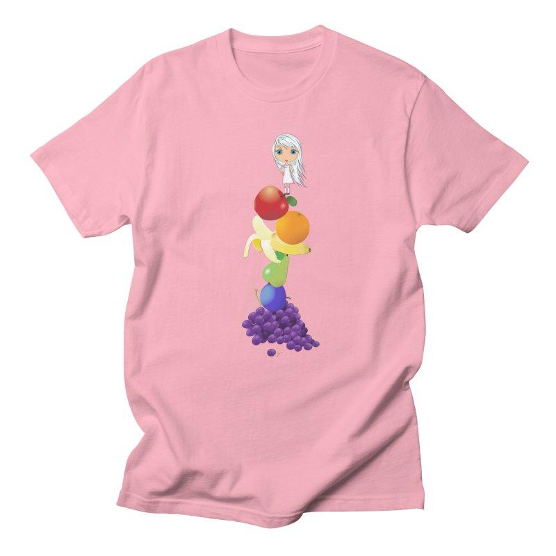 The Yummiest of Rainbows Men's T-Shirt by LittleMissTyne's Artist Shop