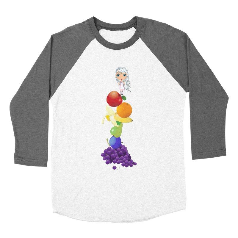 The Yummiest of Rainbows Women's Longsleeve T-Shirt by LittleMissTyne's Artist Shop