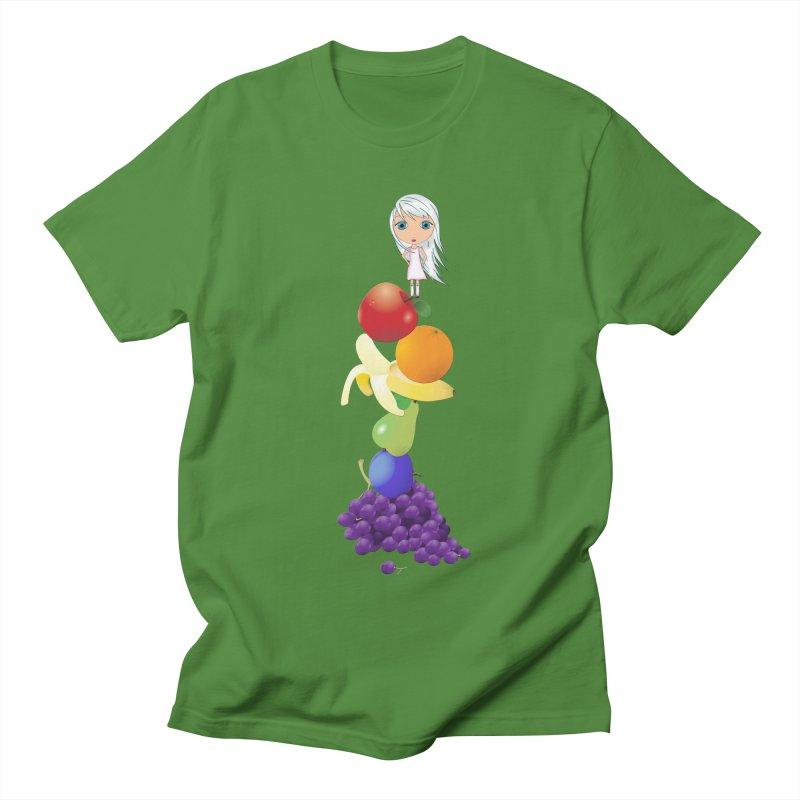 The Yummiest of Rainbows Men's T-Shirt by Little Miss Tyne's Artist Shop