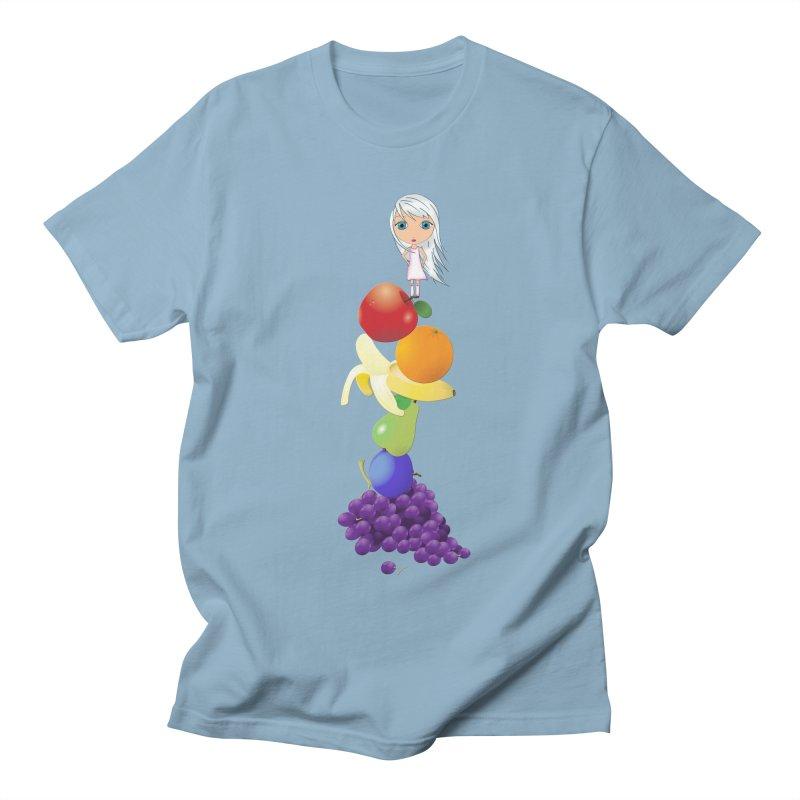The Yummiest of Rainbows Women's Regular Unisex T-Shirt by LittleMissTyne's Artist Shop