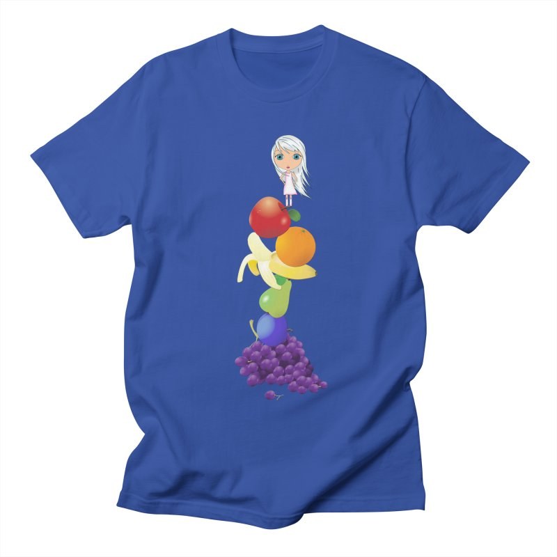 The Yummiest of Rainbows Men's T-Shirt by Little Miss Tyne's Artist Shop