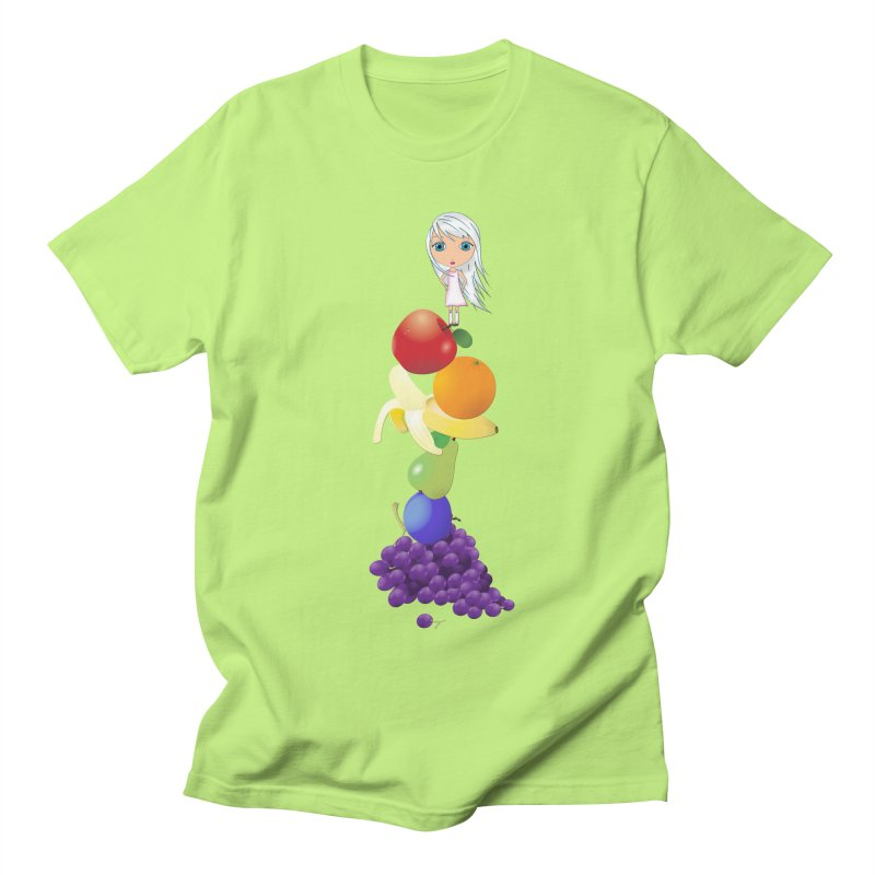 The Yummiest of Rainbows Men's Regular T-Shirt by LittleMissTyne's Artist Shop