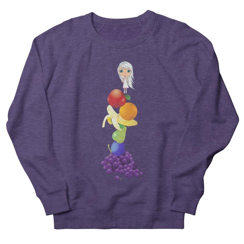 The Yummiest of Rainbows Women's French Terry Sweatshirt by LittleMissTyne's Artist Shop