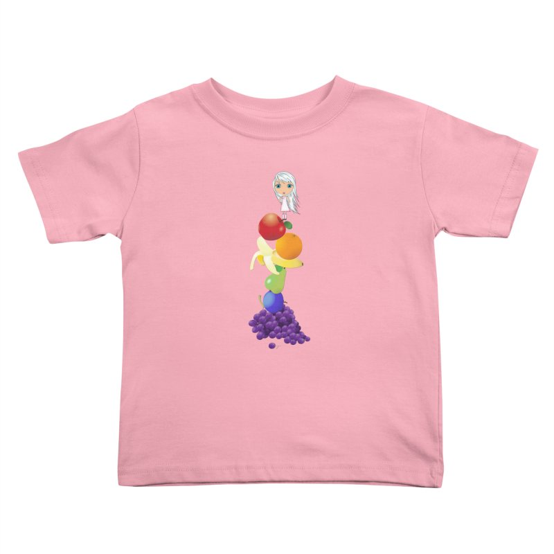 The Yummiest of Rainbows Kids Toddler T-Shirt by LittleMissTyne's Artist Shop