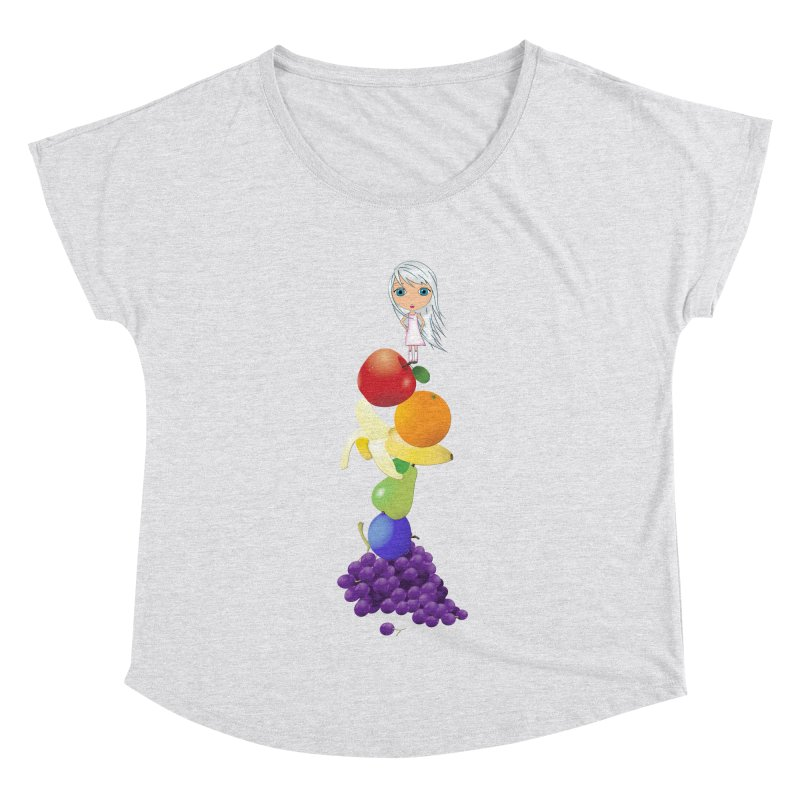 The Yummiest of Rainbows Women's Dolman Scoop Neck by LittleMissTyne's Artist Shop
