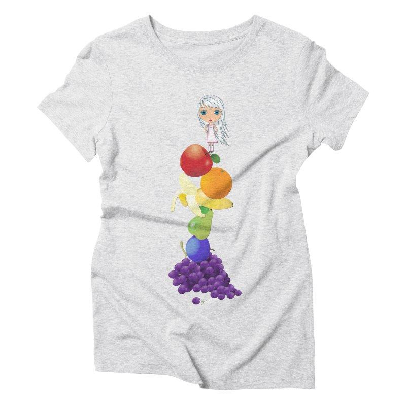 The Yummiest of Rainbows Women's T-Shirt by LittleMissTyne's Artist Shop