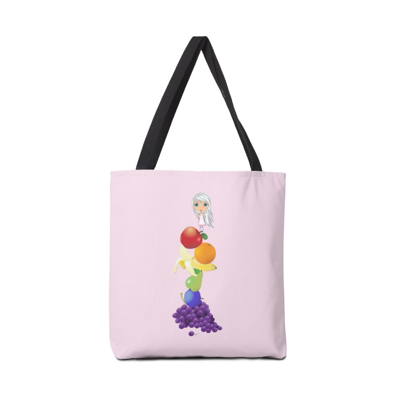 The Yummiest of Rainbows Accessories Tote Bag Bag by LittleMissTyne's Artist Shop