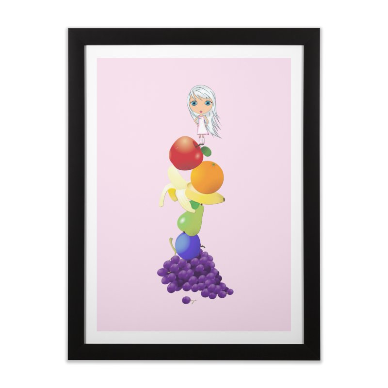 The Yummiest of Rainbows Home Framed Fine Art Print by LittleMissTyne's Artist Shop