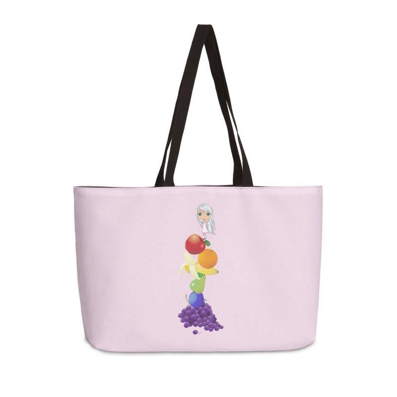 The Yummiest of Rainbows Accessories Weekender Bag Bag by LittleMissTyne's Artist Shop