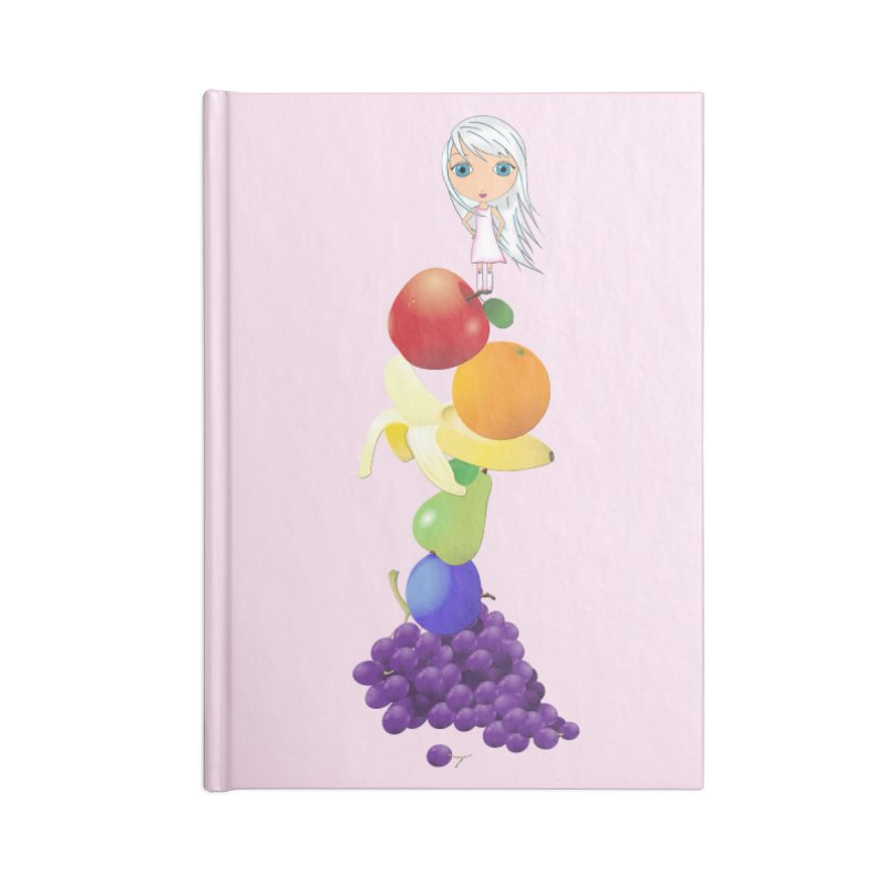 The Yummiest of Rainbows Accessories Notebook by LittleMissTyne's Artist Shop