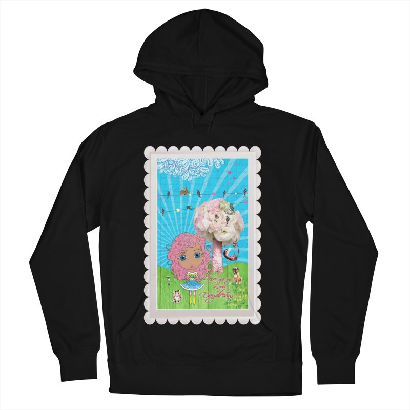 Daydreams Really Do Come True - Light Haired Version Women's French Terry Pullover Hoody by LittleMissTyne's Artist Shop