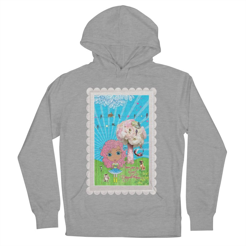 Daydreams Really Do Come True - Light Haired Version Men's French Terry Pullover Hoody by LittleMissTyne's Artist Shop
