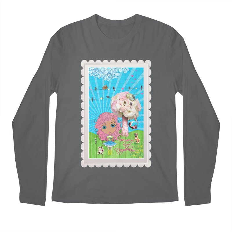 Daydreams Really Do Come True - Light Haired Version Men's Longsleeve T-Shirt by LittleMissTyne's Artist Shop