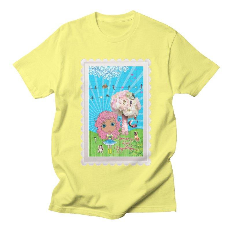 Daydreams Really Do Come True - Light Haired Version Men's T-Shirt by LittleMissTyne's Artist Shop