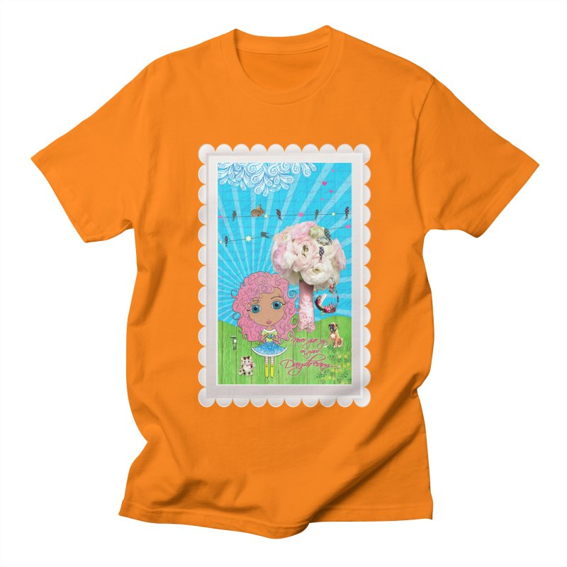 Daydreams Really Do Come True - Light Haired Version Men's T-Shirt by LittleMissTyne's Artist Shop