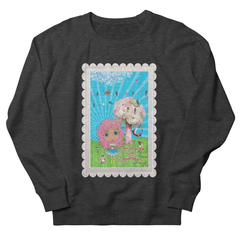 Daydreams Really Do Come True - Light Haired Version Men's French Terry Sweatshirt by LittleMissTyne's Artist Shop