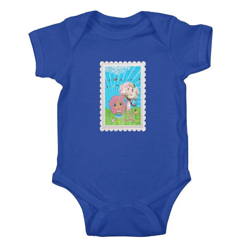Daydreams Really Do Come True - Light Haired Version Kids Baby Bodysuit by LittleMissTyne's Artist Shop