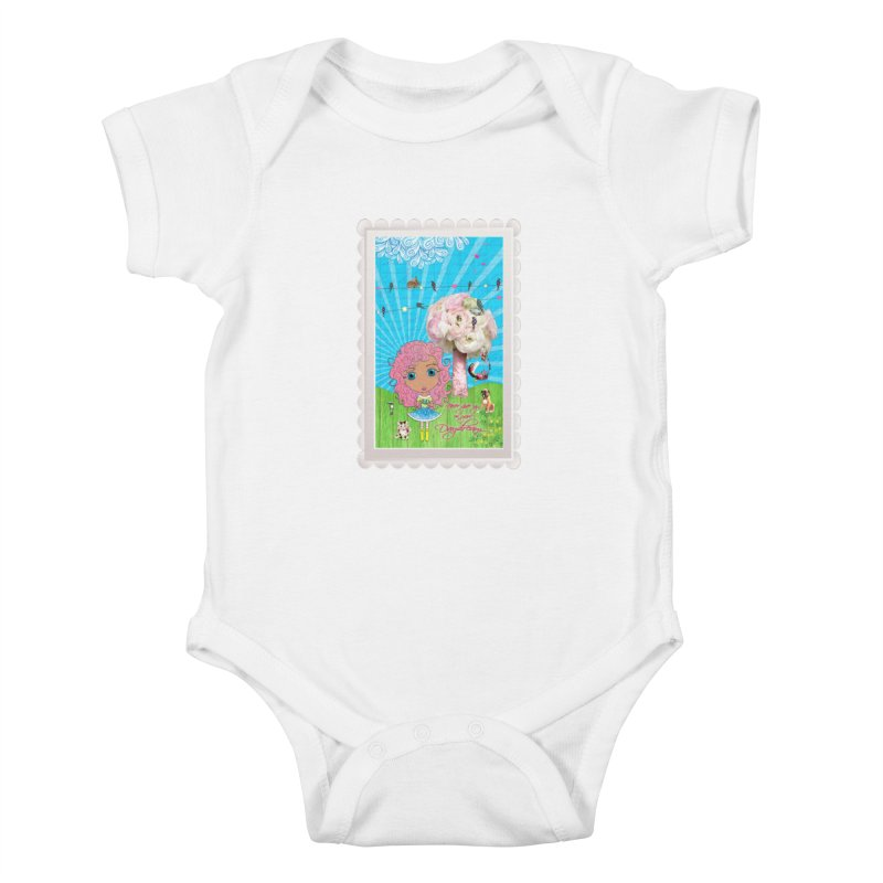 Daydreams Really Do Come True - Light Haired Version Kids Baby Bodysuit by LittleMissTyne's Artist Shop