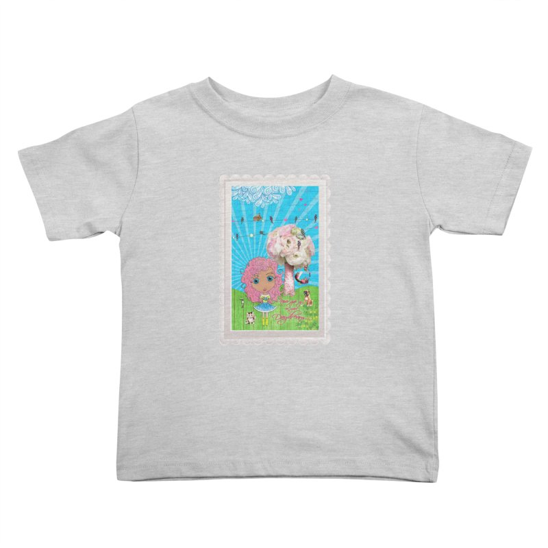 Daydreams Really Do Come True - Light Haired Version Kids Toddler T-Shirt by LittleMissTyne's Artist Shop