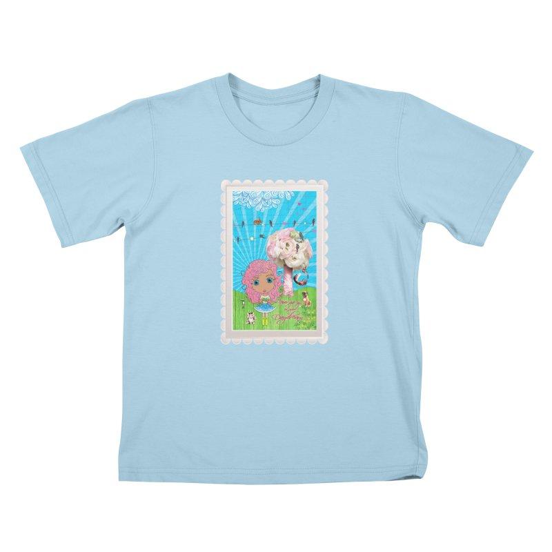 Daydreams Really Do Come True - Light Haired Version Kids T-Shirt by LittleMissTyne's Artist Shop