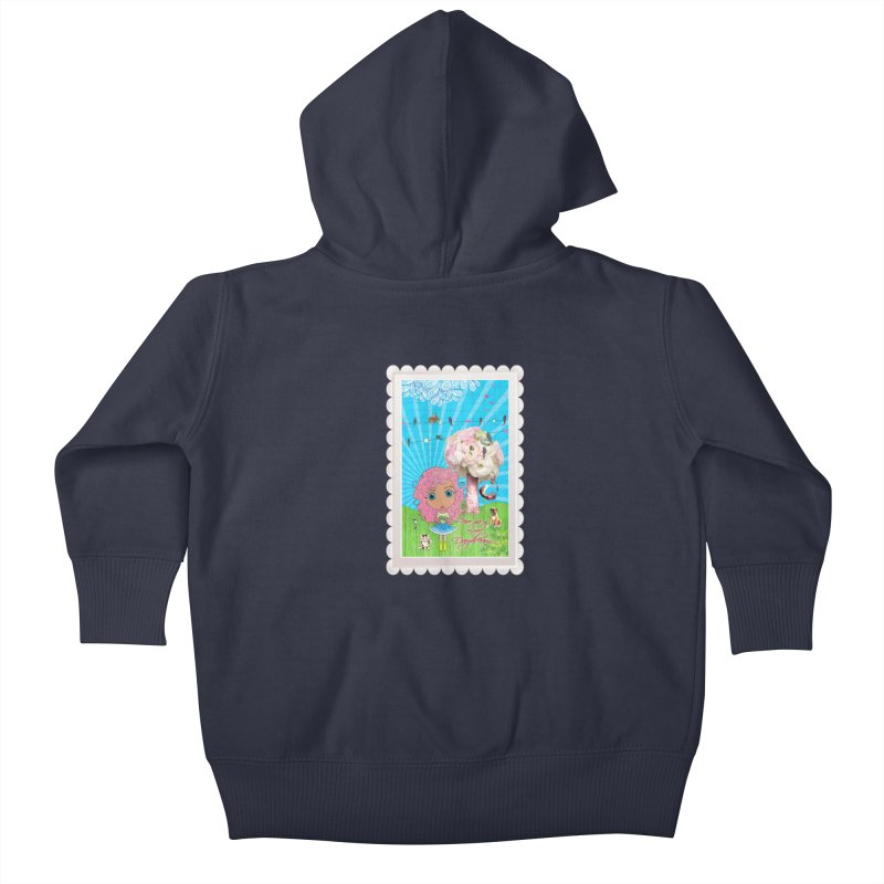 Daydreams Really Do Come True - Light Haired Version Kids Baby Zip-Up Hoody by LittleMissTyne's Artist Shop