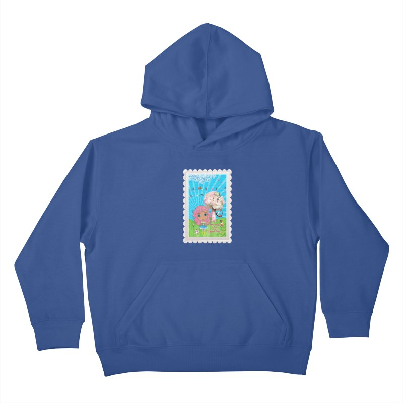 Daydreams Really Do Come True - Light Haired Version Kids Pullover Hoody by LittleMissTyne's Artist Shop
